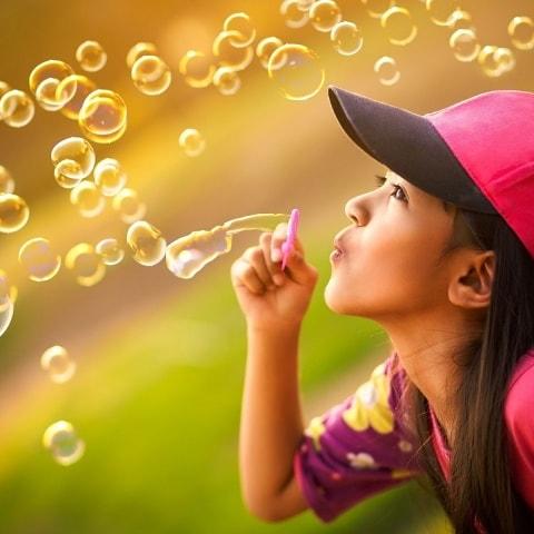 Он-лайн флешмоб «Радужные пузыри»